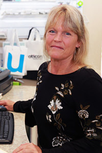 Front office manager Lynne at Hearing Solutions