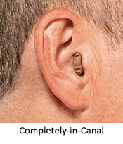CIC hearing aid at Hearing Solutions in Greensboro, NC