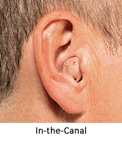 ITC hearing aid at Hearing Solutions in Greensboro, NC