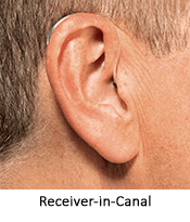 RIC Hearing aid at Hearing Solutions in Greensboro, NC
