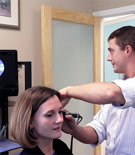 Free hearing test at Hearing Solutions
